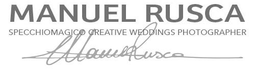Manuel Rusca – Specchiomagico Creative Weddings Photographer – Genova Italy logo